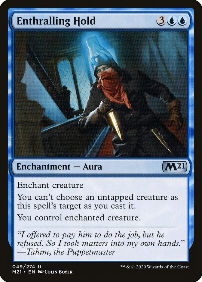 Carta /Enthralling Hold de Magic the Gathering