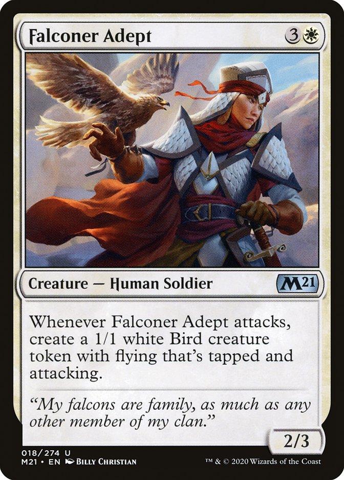 Carta /Falconer Adept de Magic the Gathering