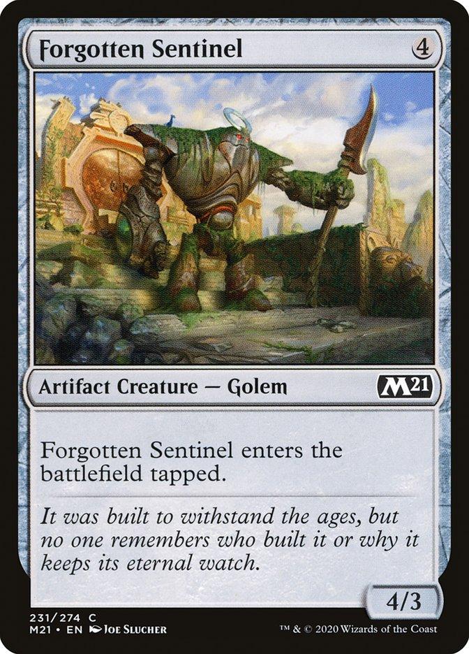 Carta /Forgotten Sentinel de Magic the Gathering