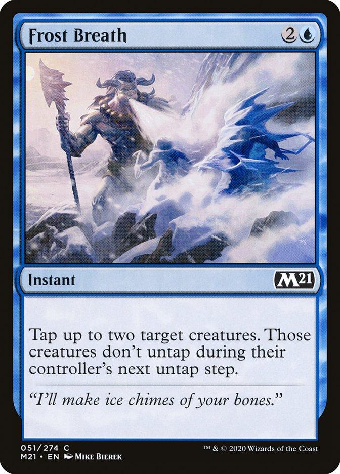 Carta /Frost Breath de Magic the Gathering