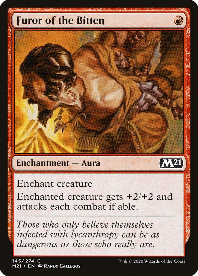 Carta /Furor of the Bitten de Magic the Gathering
