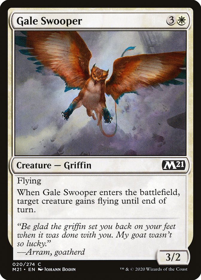 Carta /Gale Swooper de Magic the Gathering
