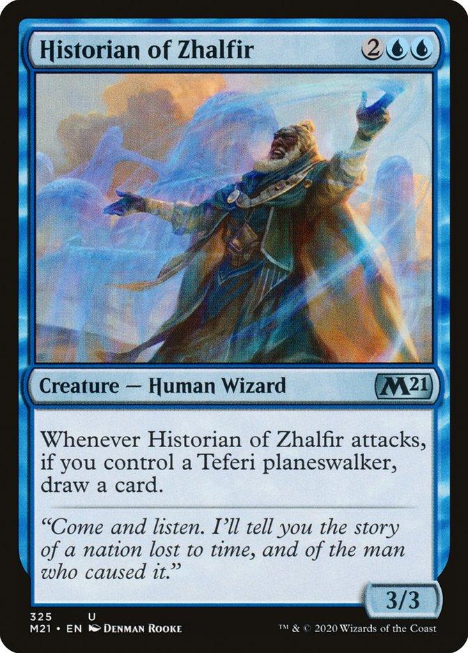 Carta /Historian of Zhalfir de Magic the Gathering