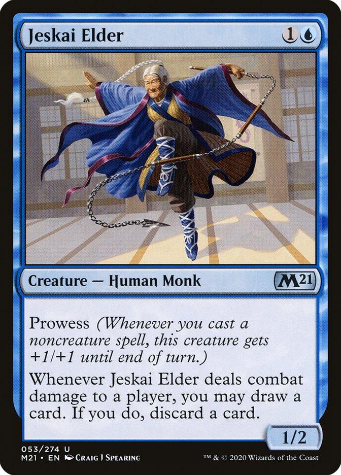 Carta /Jeskai Elder de Magic the Gathering