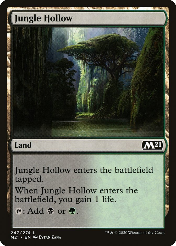 Carta /Jungle Hollow de Magic the Gathering