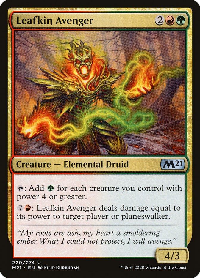 Carta /Leafkin Avenger de Magic the Gathering
