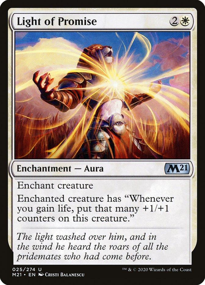 Carta /Light of Promise de Magic the Gathering