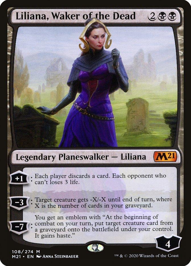 Carta /Liliana, Waker of the Dead de Magic the Gathering
