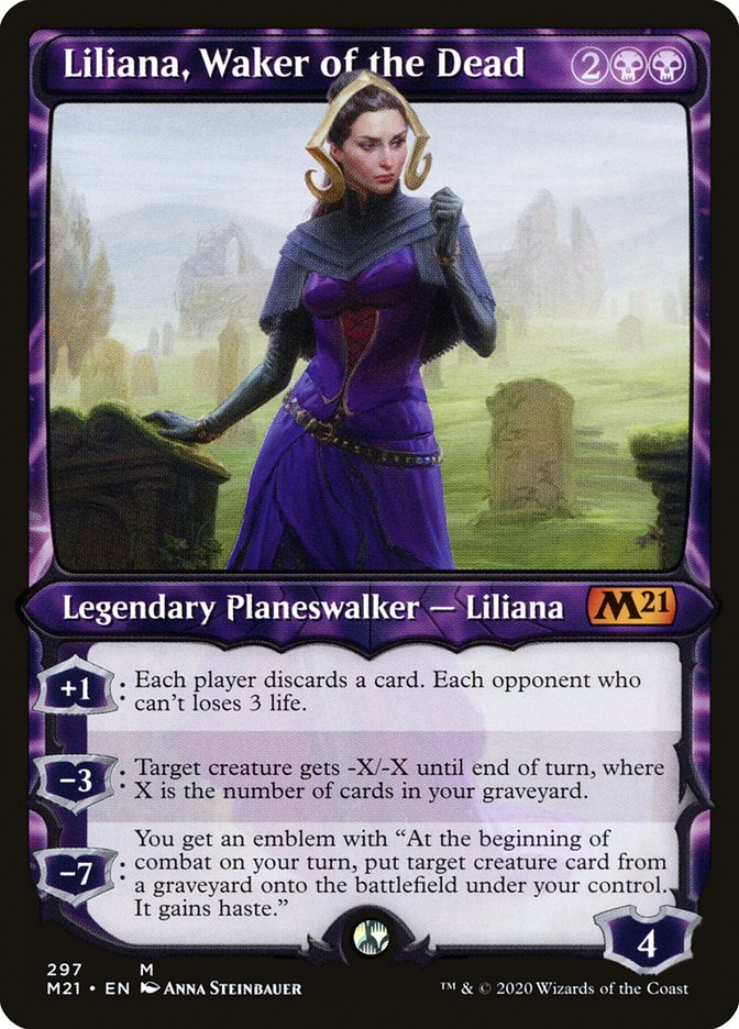 Carta /Liliana, Waker of the Dead de Magic the Gathering