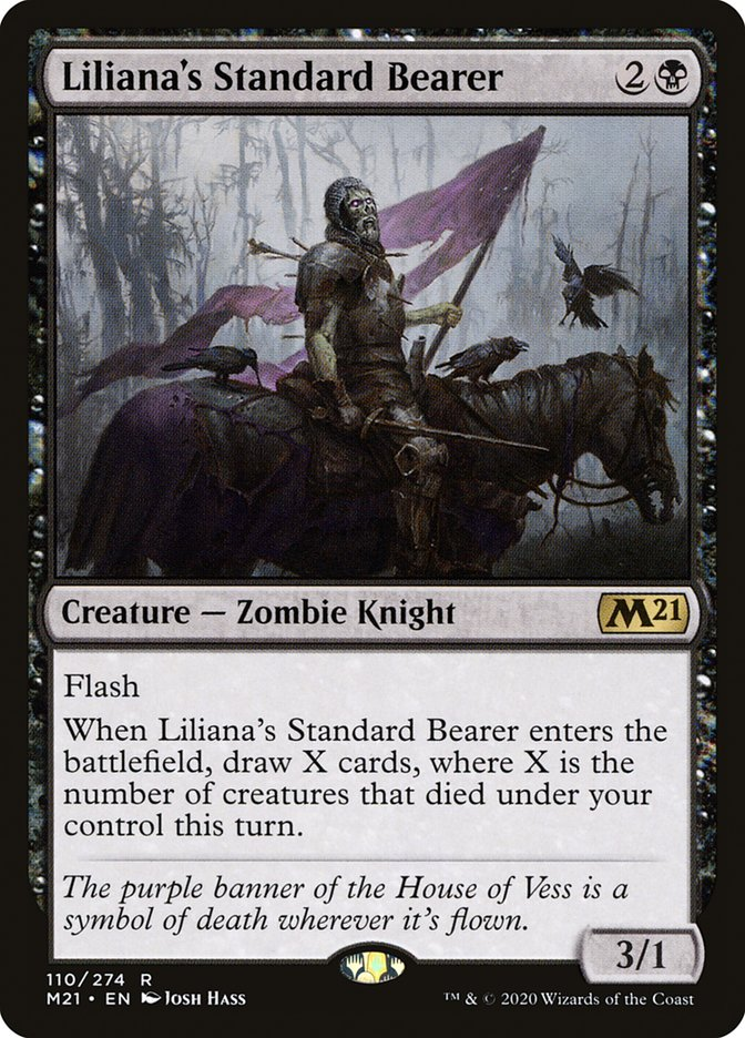 Carta /Liliana's Standard Bearer de Magic the Gathering