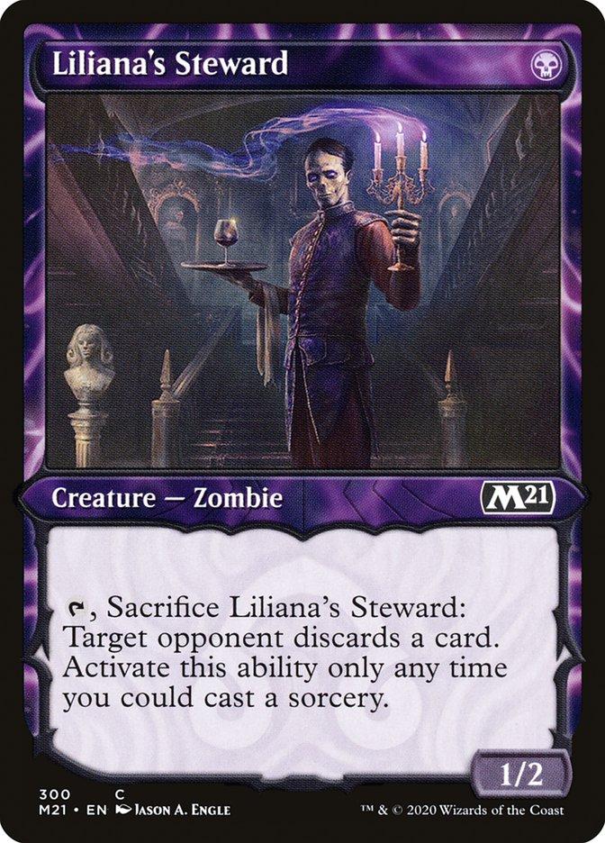 Carta /Liliana's Steward de Magic the Gathering