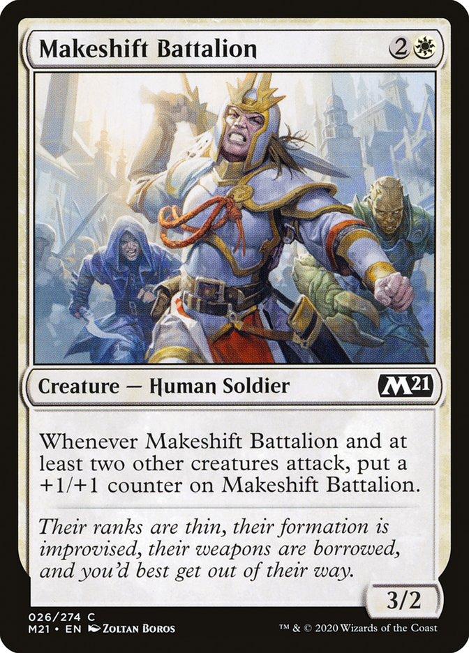 Carta /Makeshift Battalion de Magic the Gathering