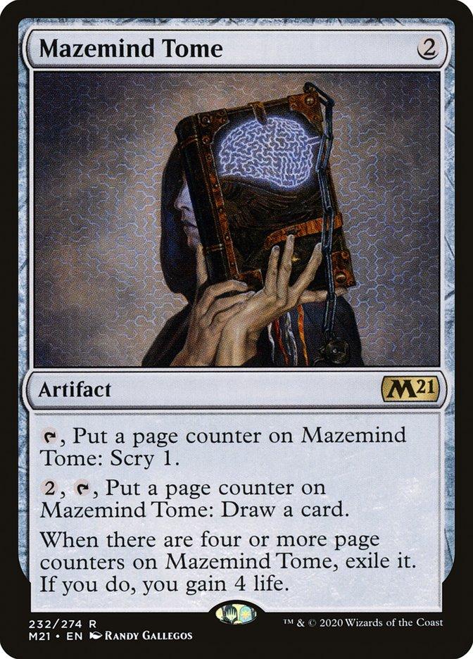 Carta /Mazemind Tome de Magic the Gathering