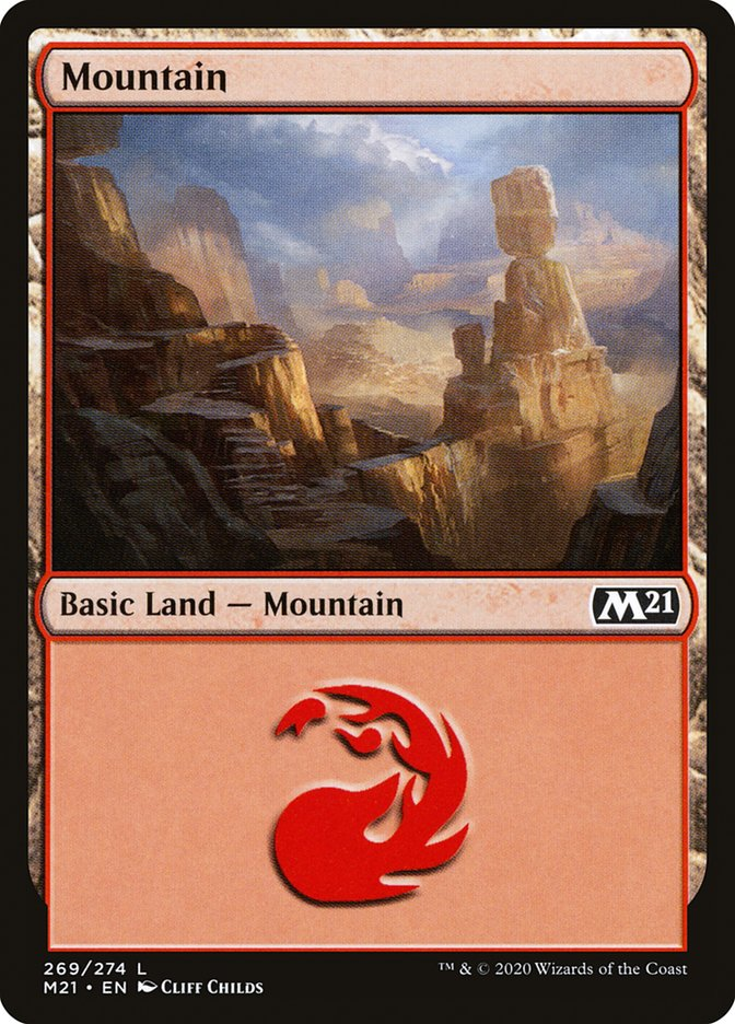 Carta /Mountain de Magic the Gathering