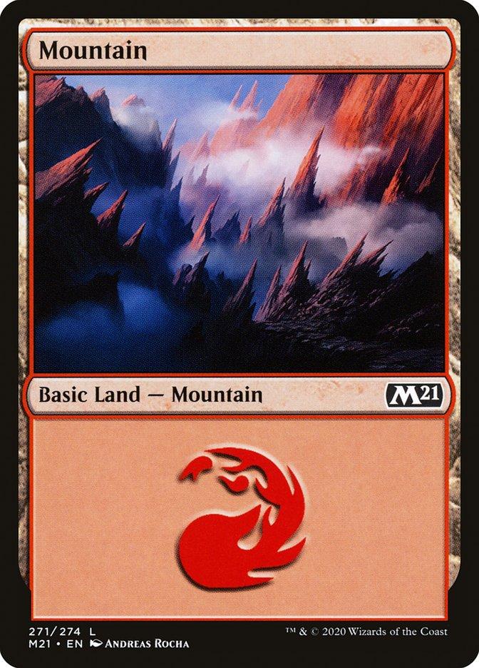 Carta /Mountain de Magic the Gathering
