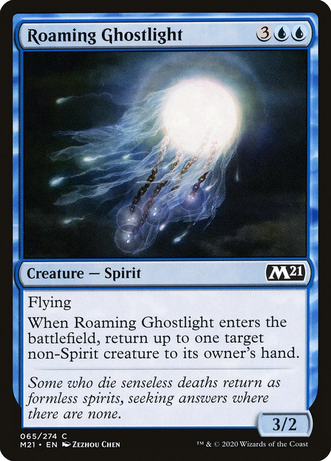 Carta /Roaming Ghostlight de Magic the Gathering