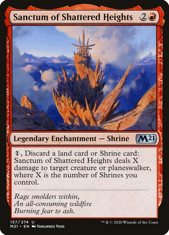 Carta /Sanctum of Shattered Heights de Magic the Gathering