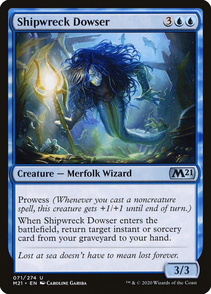 Carta /Shipwreck Dowser de Magic the Gathering