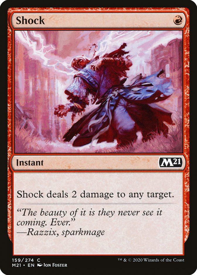 Carta /Shock de Magic the Gathering