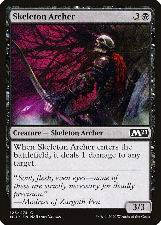 Carta /Skeleton Archer de Magic the Gathering