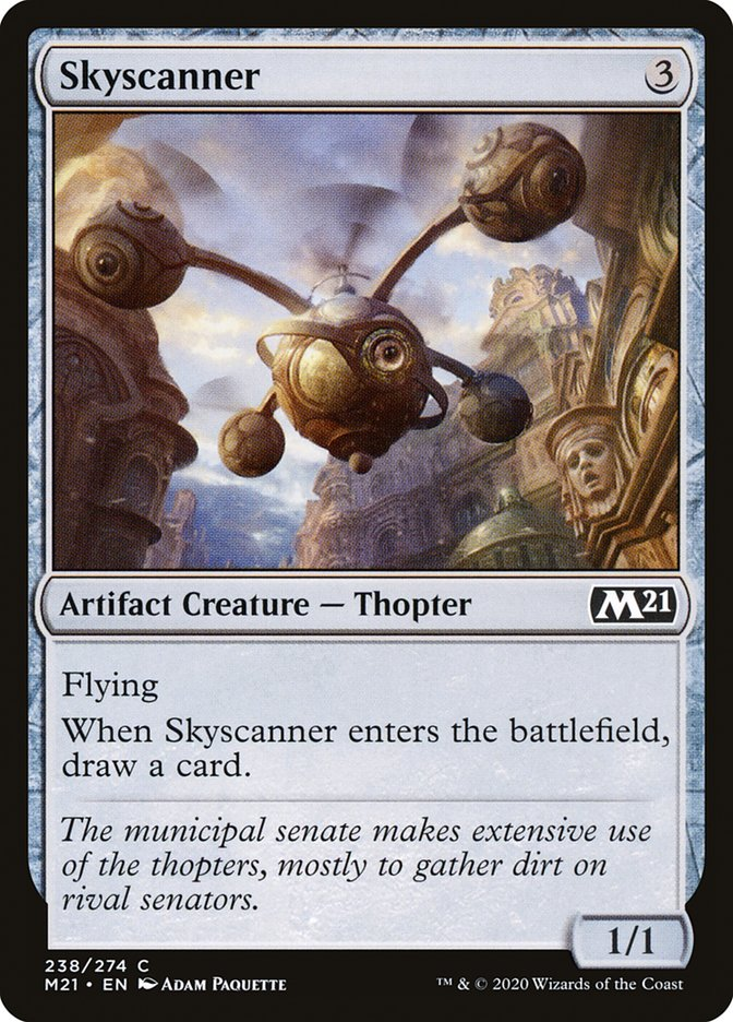 Carta /Skyscanner de Magic the Gathering