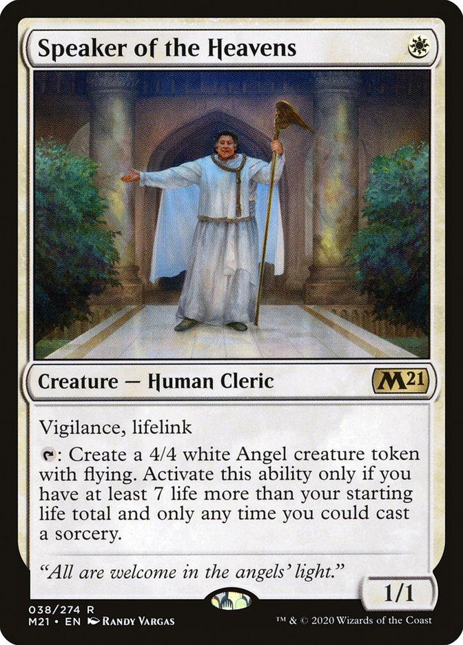 Carta /Speaker of the Heavens de Magic the Gathering