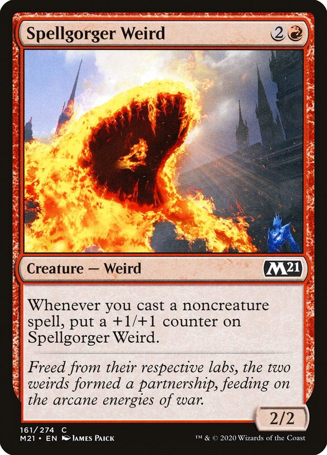 Carta /Spellgorger Weird de Magic the Gathering
