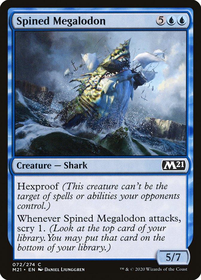 Carta /Spined Megalodon de Magic the Gathering