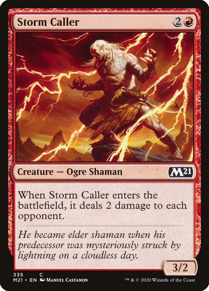 Carta /Storm Caller de Magic the Gathering