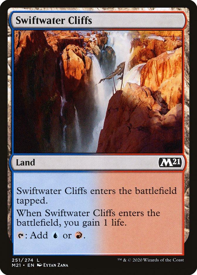 Carta /Swiftwater Cliffs de Magic the Gathering