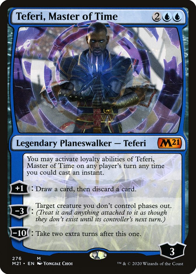 Carta /Teferi, Master of Time de Magic the Gathering