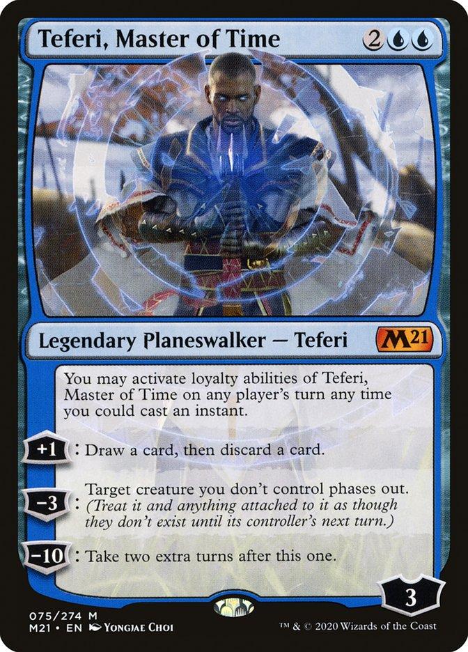Carta /Teferi, Master of Time de Magic the Gathering