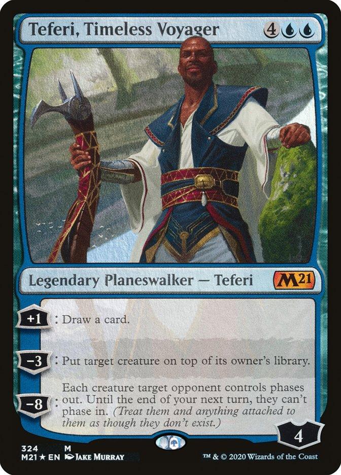 Carta /Teferi, Timeless Voyager de Magic the Gathering