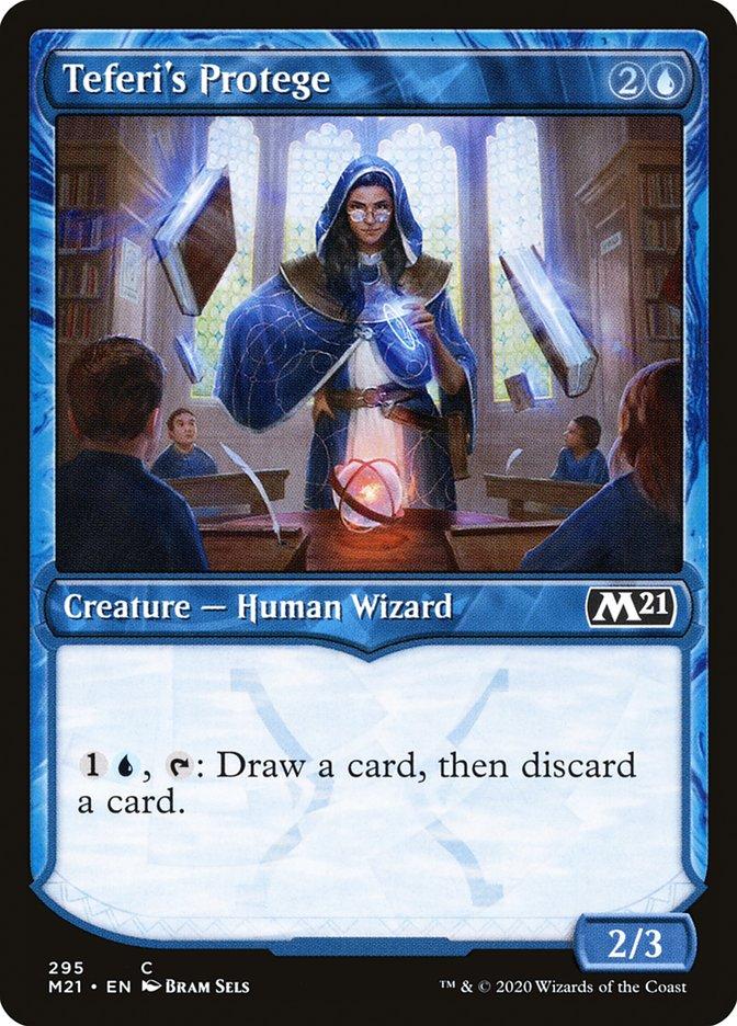 Carta /Teferi's Protege de Magic the Gathering