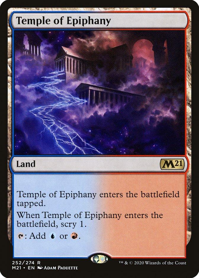 Carta /Temple of Epiphany de Magic the Gathering