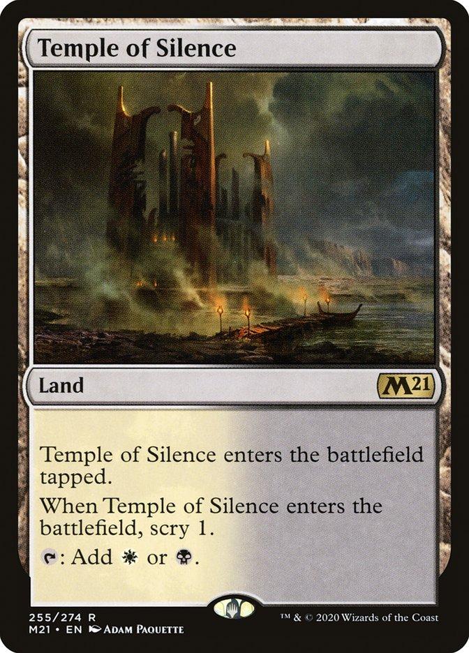 Carta /Temple of Silence de Magic the Gathering