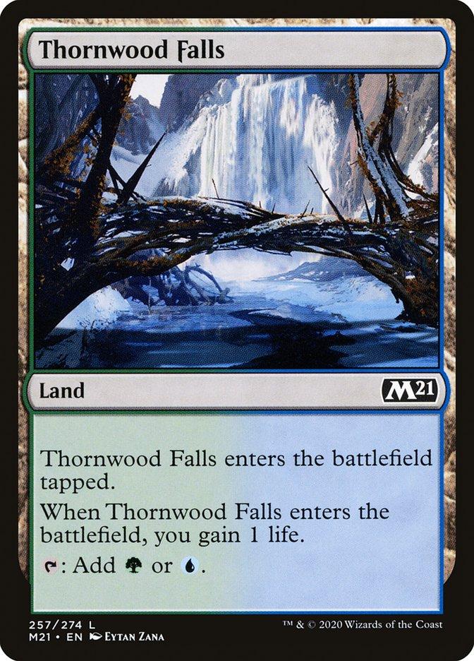 Carta /Thornwood Falls de Magic the Gathering