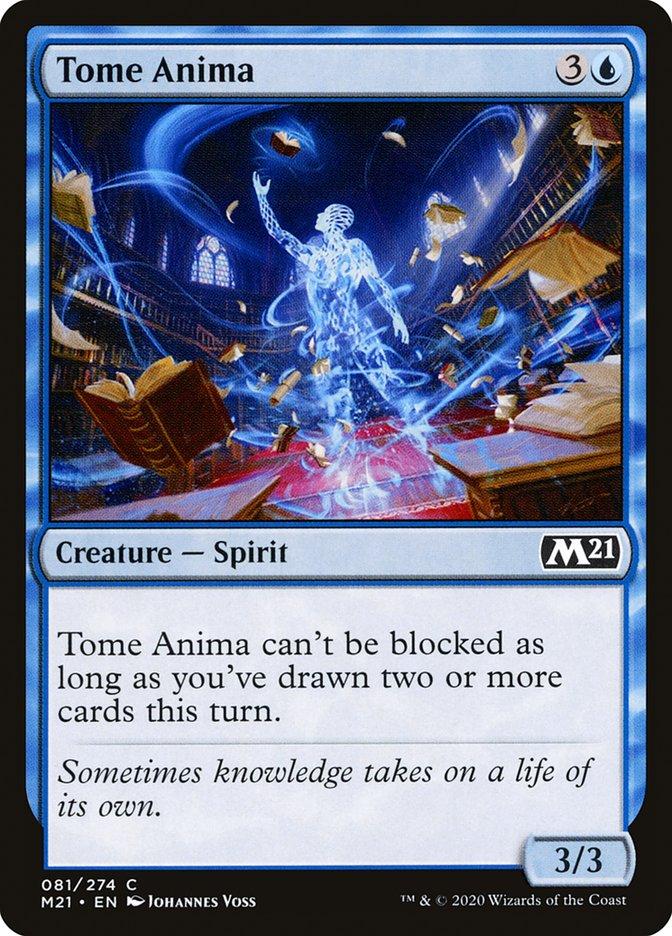Carta /Tome Anima de Magic the Gathering