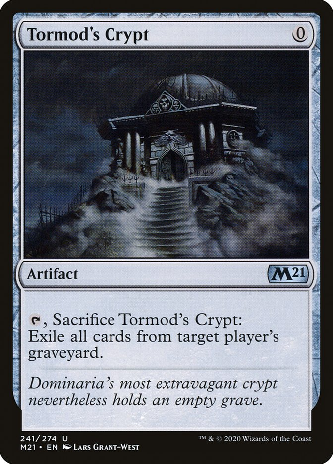Carta /Tormod's Crypt de Magic the Gathering
