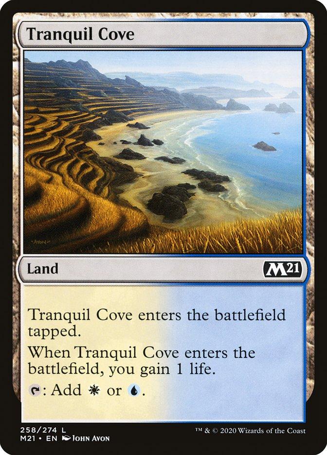 Carta /Tranquil Cove de Magic the Gathering