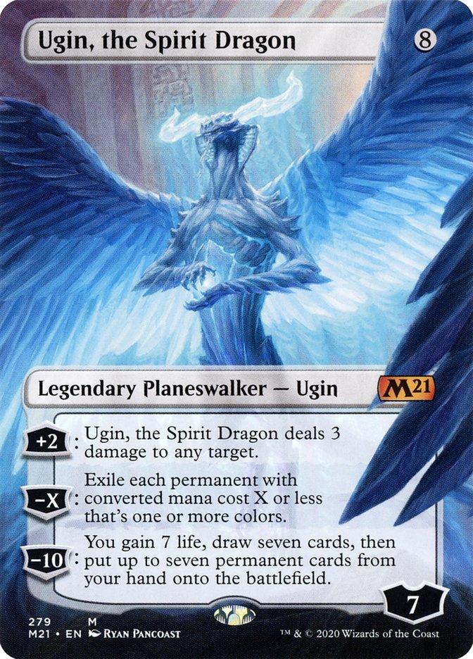 Carta /Ugin, the Spirit Dragon de Magic the Gathering