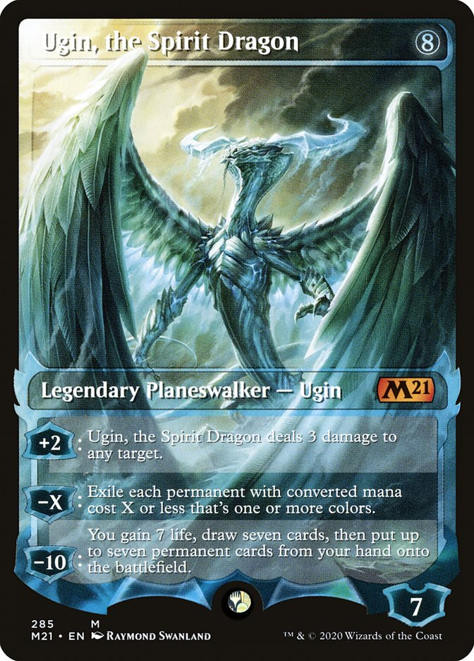 Carta /Ugin, the Spirit Dragon de Magic the Gathering