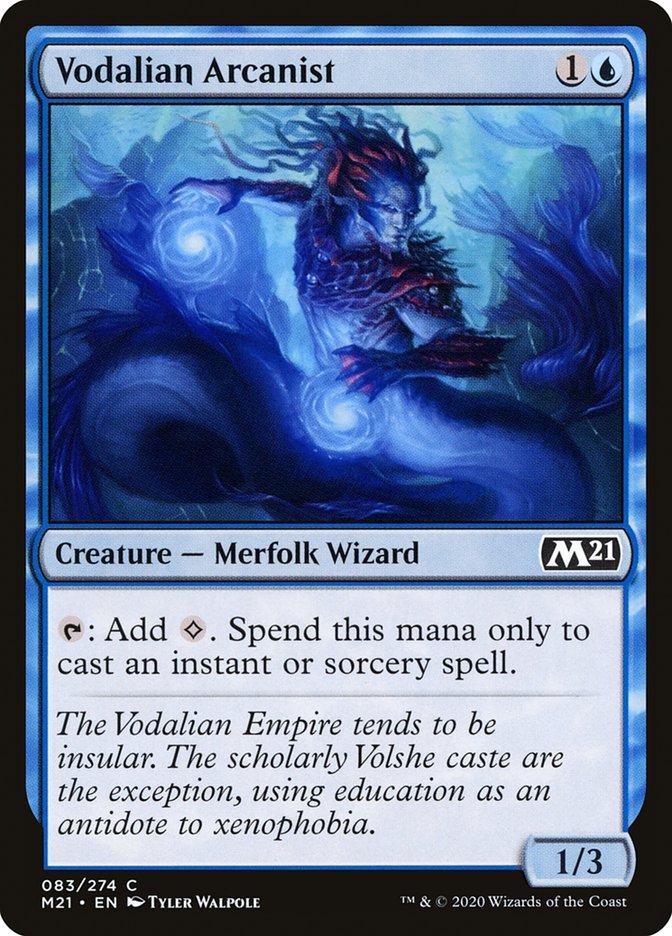 Carta /Vodalian Arcanist de Magic the Gathering