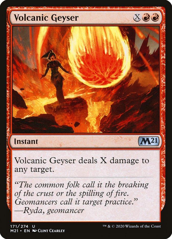 Carta /Volcanic Geyser de Magic the Gathering