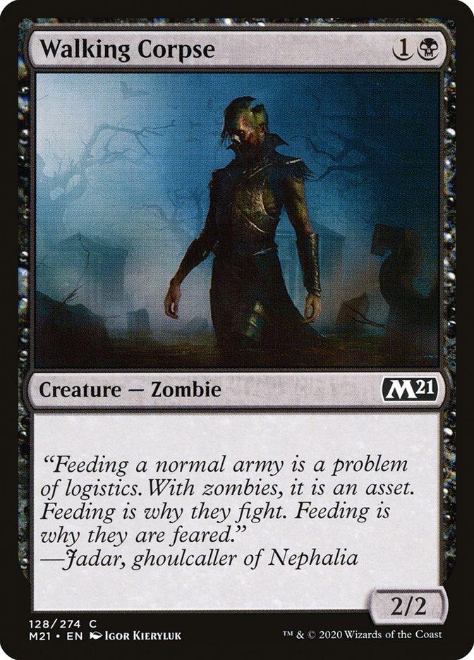 Carta /Walking Corpse de Magic the Gathering