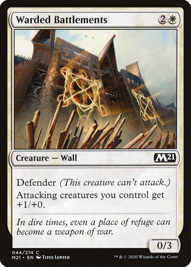 Carta /Warded Battlements de Magic the Gathering