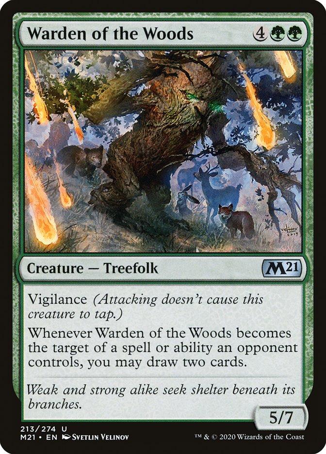 Carta /Warden of the Woods de Magic the Gathering