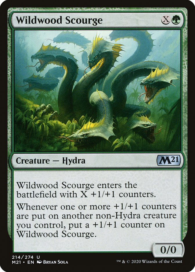 Carta /Wildwood Scourge de Magic the Gathering
