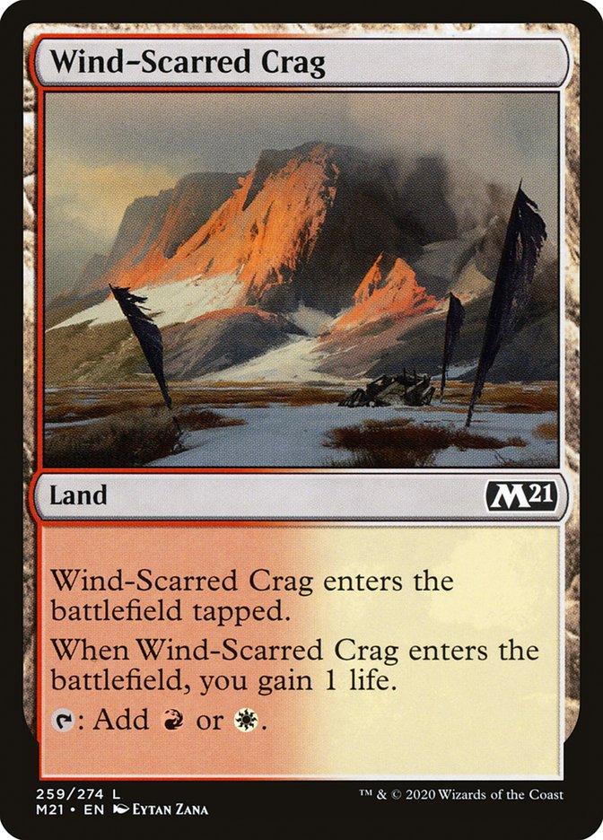 Carta /Wind-Scarred Crag de Magic the Gathering