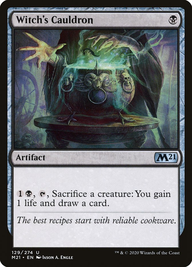 Carta /Witch's Cauldron de Magic the Gathering